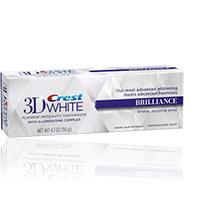 Zubní pasta Crest Brilliance